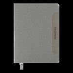 Ежедневник датированный 2021 Buromax Liga А5 с обложкой из искусственной кожи 336 с. L2U Серый (BM.2187-09)