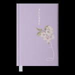 Ежедневник датированный 2022 Buromax ALLUREА6 лавандовый 336 с (BM.2567-39)