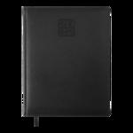 Еженедельник датированный 2022 Buromax BRAVO  черный L2U 136 с (BM.2780-01)