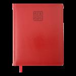 Еженедельник датированный 2022 Buromax BRAVO A4 красный L2U 136 с (BM.2780-05)