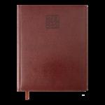 Еженедельник датированный 2022 Buromax BRAVO A4 коричневый L2U 136 с (BM.2780-25)