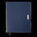 Еженедельник датированный 2022 Buromax SALERNO A4 синий L2U 136 с (BM.2781-02)