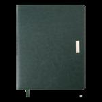 Еженедельник датированный 2022 Buromax SALERNO A4 зеленый L2U 136 с (BM.2781-04)