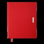 Еженедельник датированный 2022 Buromax SALERNO A4 красный L2U 136 с (BM.2781-05)