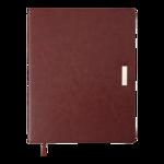 Еженедельник датированный 2022 Buromax SALERNO A4 коричневый L2U 136 с (BM.2781-25)