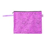 Папка для тетрадей тканевая на молнии ZiBi Школа А4 33x24x1 см Фиолетовая (ZB.703513-07)