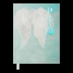 Ежедневник датированный 2022 Buromax NOVELА5 бирюзовый 336 с (BM.2181-06)