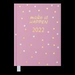 Ежедневник датированный 2022 Buromax MODERNAА5 св-розовый 336 с (BM.2172-43)