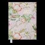 Ежедневник датированный 2022 Buromax ELEGANTА5 розовый 336 с (BM.2177-10)