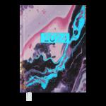 Ежедневник датированный 2022 Buromax MIRACLEА5 фиолетовый  336 с (BM.2179-07)