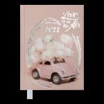Ежедневник датированный 2022 Buromax ONLYА5 светло-розовый 336 с (BM.2183-43)