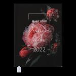 Ежедневник датированный 2022 Buromax MAGIC А5 красный 336 с (BM.2159-05)