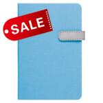 Блокнот 11,5х16,5 блок: чистий лист LAUR, голубой (692209)