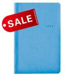 Блокнот 11х16,5 блок: чистий лист ANDRE, голубой (692148)