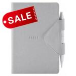 Блокнот 12х16,5 блок: чистий лист IDEA BOX, серый (692223)