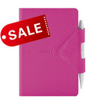 Блокнот 12х16,5 блок: чистий лист IDEA BOX, фуксия (692254)