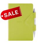 Блокнот 12х16,5 блок: чистый лист IDEA BOX, зеленый (692247)