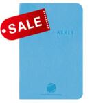 Блокнот 8х12 блок: чистый лист KLINE, голубой (692087)