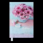 Ежедневник датированный 2022 Buromax ROMANTICА6 голубой 336 с (BM.2561-14)