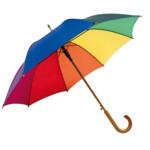 Зонт трость автомат Tango радуга ф103 см (56-0103149 rainbow)