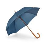 Зонт мех.190T. Деревянная трость и ручка синий (99100.4)