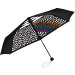 Зонт карманный FARE Colormagic черный ф98см (5042С)