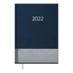 Ежедневник датированный 2022 Buromax PARALLEL А5 синий 336 с (BM.2107-02)
