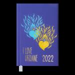 Ежедневник датированный 2022 Buromax UKRAINE A6 фиолетовый 336 с (BM.2562-07)