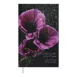 Еженедельник датированный 2022 Buromax POSH карманный фиолетовый 128 с (BM.2887-07)