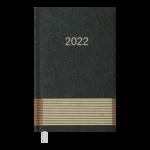 Еженедельник датированный 2022 Buromax PARALLEL карманный зеленый 128 с (BM.2882-04)