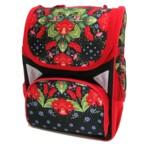 Рюкзак школьный каркасный Josef Otten Цветы 34x26x14.5 см (1715-JO)
