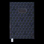 Ежедневник датированный 2022 Buromax VELVET А6 синий  336 с (BM.2521-02)