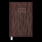 Ежедневник датированный 2022 Buromax VELVET А6 бордовый  336 с (BM.2521-13)