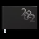 Еженедельник датированный 2022 Buromax OFFICE карманный черный 128 с (BM.2756-01)