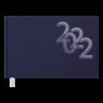 Еженедельник датированный 2022 Buromax OFFICE карманный синий 128 с (BM.2756-02)