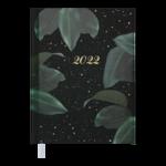 Ежедневник датированный 2022 Buromax ESTILO А5 черный 336 с (BM.2165-01)