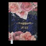 Ежедневник датированный 2022 Buromax ESTILO А5 синий 336 с (BM.2165-02)