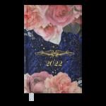 Еженедельник датированный 2022 Buromax ESTILO карманный синий 128 с (BM.2885-02)