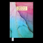 Еженедельник датированный 2022 Buromax MIRACLE карманный бирюзовый 128 с (BM.2888-06)