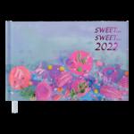 Еженедельник датированный 2022 Buromax SWEET карманный лавандовый 128 с (BM.2765-39)