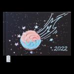 Еженедельник датированный 2022 Buromax SWEET карманный фиолетовый 128 с (BM.2765-07)