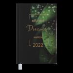 Ежедневник датированный 2022 Buromax MAGIC А6 зеленый 336 с (BM.2516-04)