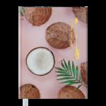 Ежедневник недатированный Buromax NOVEL А5 персиковый 288 с (BM.2020-46)