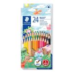 Карандаши цветные Noris (24шт/упак) (ST.144 NC24 12)