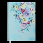 Ежедневник недатированный Buromax FILLING А5 голубой 288 с (BM.2031-14)