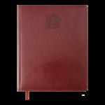 Еженедельник датированный 2022 Buromax BRAVO A4 бордовый L2U 136 с (BM.2780-13)