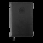 Еженедельник датированный 2022 Buromax BRAVO A5 черный L2U 136 с (BM.2706-01)