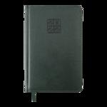 Еженедельник датированный 2022 Buromax BRAVO A5 зеленый L2U 136 с (BM.2706-04)