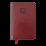 Еженедельник датированный 2022 Buromax BRAVO A5 бордовый L2U 136 с (BM.2706-13)