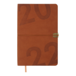 Еженедельник датированный 2022 Buromax BEST A5 св-коричневий 136 с (BM.2704-18)